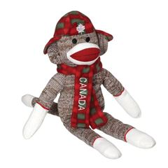 Picture of Canada Hoser Sock Monkey - 163605