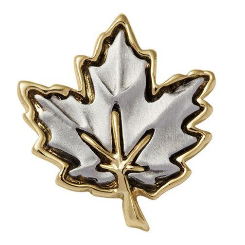 Quality  Pewter Maple Leaf Canada  Pin Brooch
