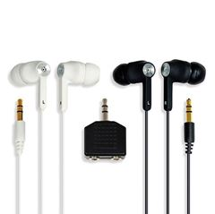 Picture of SMUG Twin Pack Hi-Fi Quality, Noise Isolation, Stereo Earphones With Spliter - 161524