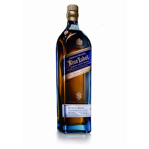 Duty Free Blue Label Cask Edition 55.8% 1L Online From Air