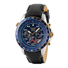 Picture of AVIATOR GENTS WORLD TIME PILOT WATCH - 143726