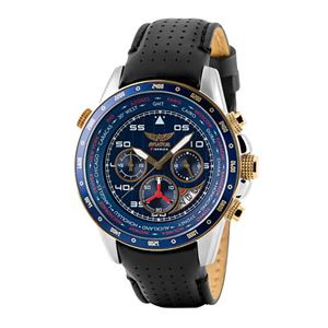 Picture of AVIATOR GENTS WORLD TIME PILOT WATCH