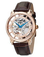 Picture of STUHRLING MEN'S EXECUTIVE AUTOMATIC SKELETON WATCH - 143884