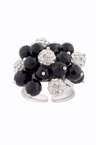 Picture of Onyx cluster ring