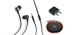 Picture of HIGH-PERFORMANCE IN-EAR HEADPHONES WITH JBL® DRIVERS AND MICROPHONE - 200801