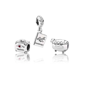 Picture of TRAVEL CHARM SET