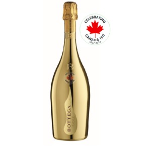 Picture of Gold Prosecco Commemorative Maple Leaf Edition