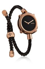 Picture of Rumba Time Black & Rose Gold Adjustable Band  - 143234