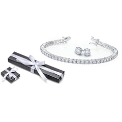 Picture of BRILLIANT CUT TENNIS BRACELET SET - 154608