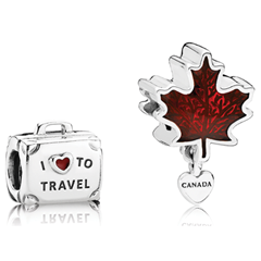 Picture of PANDORA LOVE CANADA CHARM SET - 156539