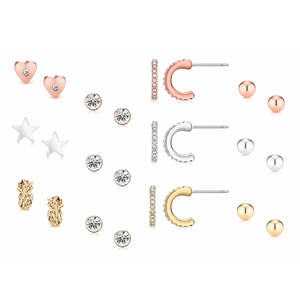 Picture of 12 PIECE MICRO EARRING SET