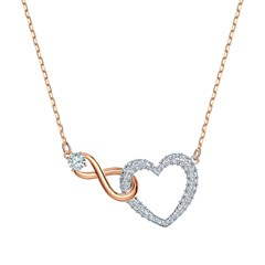 Picture of INFINITY HEART NECKLACE - 157101