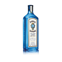 Picture of BOMBAY SAPPHIRE DISTILLED LONDON DRY GIN - 180060
