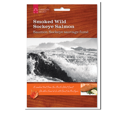 Picture of SMOKED WILD SOCKEYE SALMON - 190021